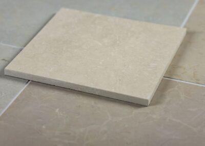 Orgita floor tiles, honed