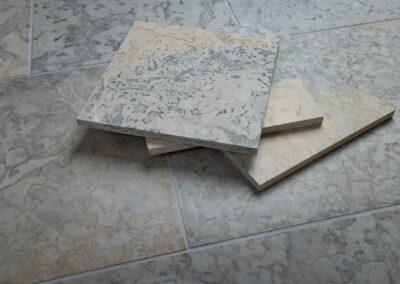 Selgase segu, lihvitud põrandaplaadid
