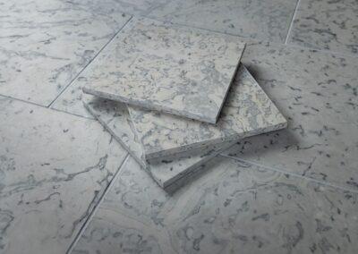 Selgase sinine, lihvitud põrandaplaadid